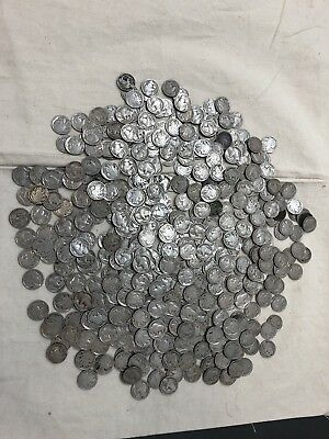 Estate Lot Of 454 Buffalo Nickels 1913-1938 Full & No Date P D & S Mint Marks