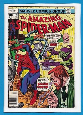 Amazing Spider-Man #170_July 1977_Very Fine/near Mint_Doc Ock_Doctor Faustus!