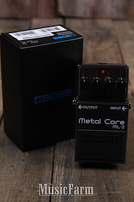 Boss ML-2 Metal Core Distortion Electric Guitar Effects Pedal with Warranty ML2