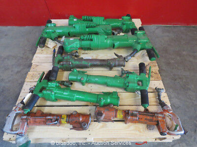 Lot of (8) APT 190 117 115 LB American Demo Breaker Air Jack Hammer Tool bidadoo