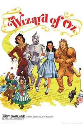 THE WIZARD OF OZ MOVIE POSTER,(YELLOW BRICK ROAD) (SIZE 24x36)