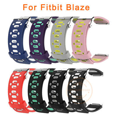 For Fitbit Blaze Smart Watch Silicone Wristband Band Strap Belt