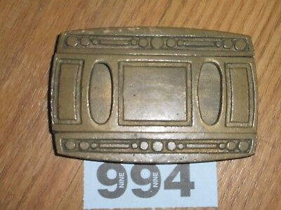 Vintage Brass Safe Lock  Key Hole Cover