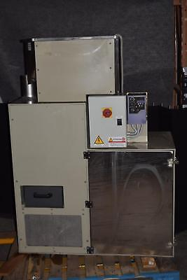PLAST INOX AIR  SEPARATION MACHINE w/ INVERTEK OPTIDRIVE i55  (#2000)