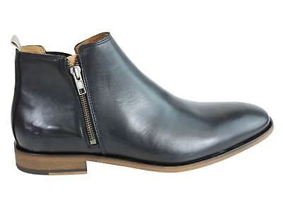 New Wild Rhino Belmont Mens Leather Dress Boots Made In Portugal
