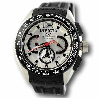 547127c44 Invicta S1 Racing Team 1454 Men's Silver Dial Stainless Chronograph Sport  Watch