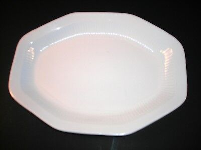 Antique REAL ENGLISH IRONSTONE PLATTER by WM ADAMS & SONS, MICRATEX