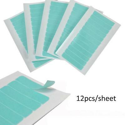 Quality 12/36/60pcs Precut Super Double Sided Tape Weft Tape-in Hair Extension
