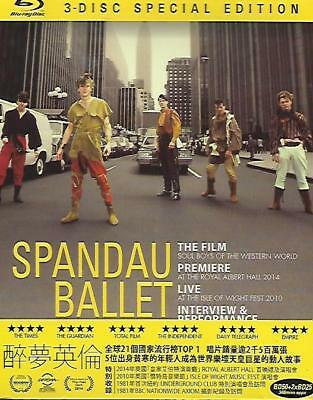 Spandau Ballet The Film Soul Boys Of The Western World Blu Ray 3-Disc NEW R1