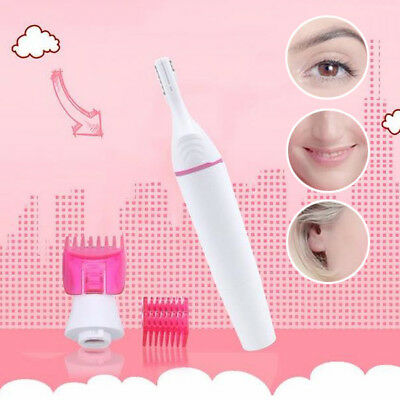5in1 Electric Eyebrow Trimmer Bikini Leg Face Hair Remover Shaver For Women lady