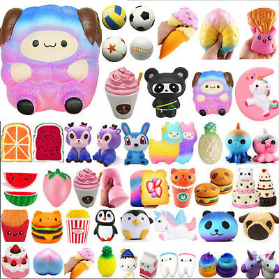 Jumbo Slow Rising Squishies Scented Charms Kawaii Squishy Squeeze Toy Cute Gifts