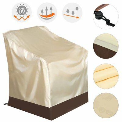 1/4Pcs Waterproof Outdoor High Back Chair Cover Yard Patio Furniture Protection