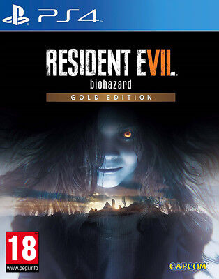 Resident Evil 7: Biohazard - Gold Edition (PS4)  NEW AND SEALED - QUICK DISPATCH