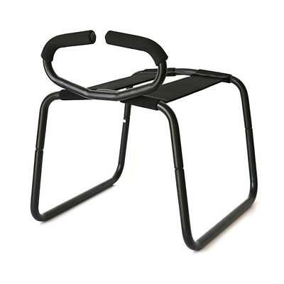 Cozy Feel Sex loving Bounce Stool Sex Chair&Handrail Elastic Toy Black T3217!.AU