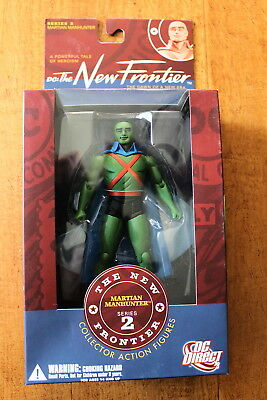 Dc: New Frontier: Martian Manhunter Action Figure Dc Direct Darwyn Cooke Oop