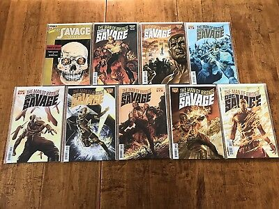 Man Of Bronze: Doc Savage 9 Issue Dynamite Comics Lot 2-8, Annual, Special Nm