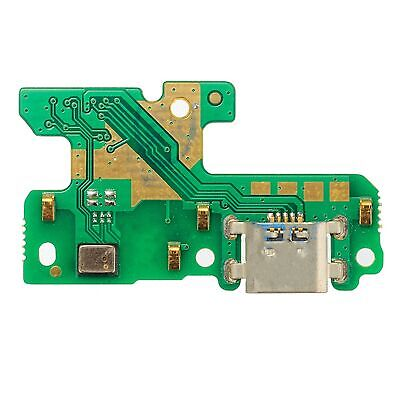 For Huawei P8 Lite 2017 Micro USB Charging Port Flex Board + Microphone ALE-L21