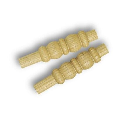 Gm Cricket Bails 9 '' (4 Per Set) - Gunn Moore County Wooden Competitive