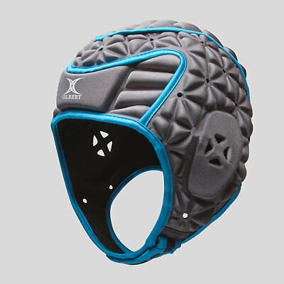 Gilbert Mens Evolution Rugby Head Guard Blue Rugby Sports Training