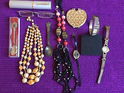 Job Lot of Quality Wearable Costume Jewellery Mixed Items Vintage and Recent