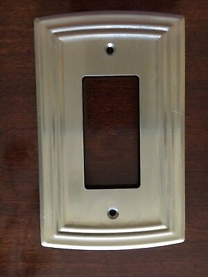 Liberty Classical Single Decorator Satin Nickel Outlet Wall Plate Free Shipping