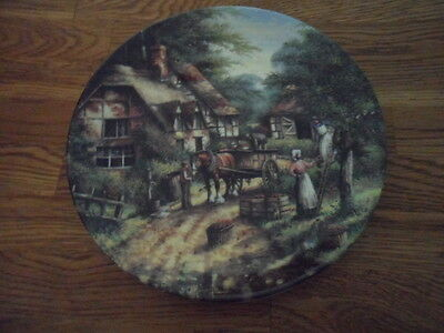 2 Wedgwood Collectors Plate Country Days Series ,