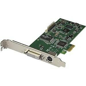 NEW! Startech Pcie Video Capture Card 1080P At 60 Fps Hdmi / Vga / Dvi / Compone