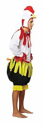 Mens Adult Chicken Rooster Costume Animal Turkey Christmas Easter Fancy Dress