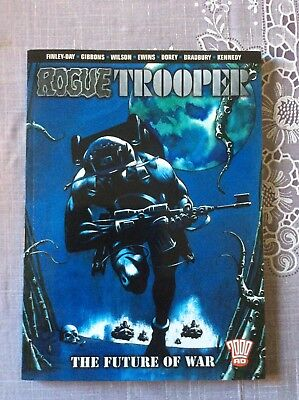 Rogue Trooper The Future Of War 2000ad Graphic Novel