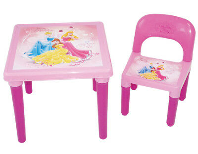 NEW! Disney Princess My First Activity Table And Chair Set CDIP016