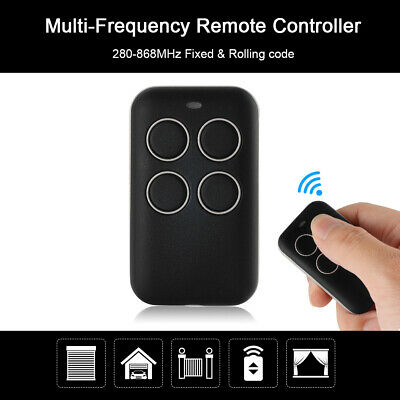Fixed Rolling Code Garage Remote Control Duplicator Frequency 280-868MHz HS1176