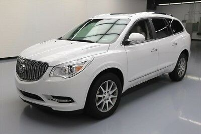 Buick Enclave Leather Texas Direct Auto 2017 Leather Used 3.6L V6 24V Automatic FWD SUV OnStar