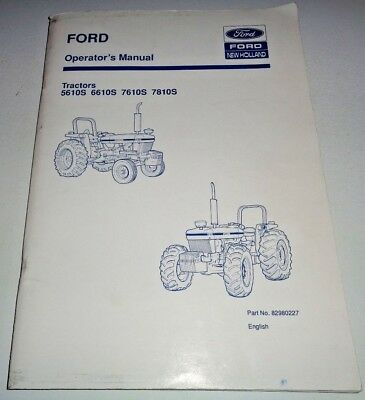 Ford new holland 3415 tractor owners operators manual maintenance ford 5610s 6610s 7610s 7810s tractor operators owners manual new holland 1193 fandeluxe Image collections