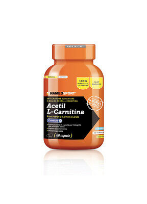 NAMED SPORT® - ACETYL L-CARNITINE - 60 TABS - 84g - SCAD. 30/04/21