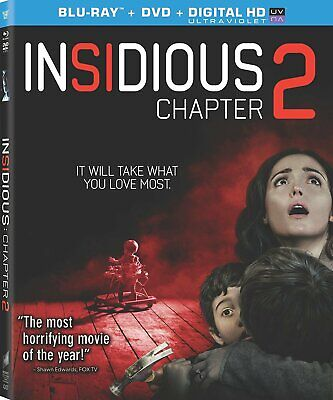 Insidious: Chapter 2 (Two Disc Combo: Blu-ray / DVD + UltraViolet DC) NEW!