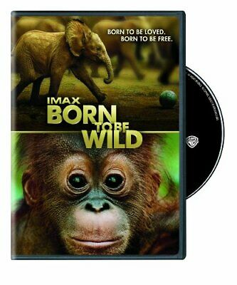IMAX: Born to Be Wild [DVD] [2012] NEW!