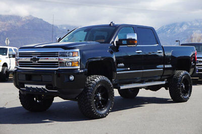 Chevrolet Silverado 2500HD HIGH COUNTRY LIFTED CHEVY HIGH COUNTRY 4X4 DURAMAX DIESEL CUSTOM WHEELS TIRES LEATHER NAV