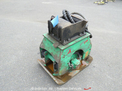 Indeco IHC75 Backhoe Hydraulic Plate Tamper Compactor Pack Attachment 2,100 VPM