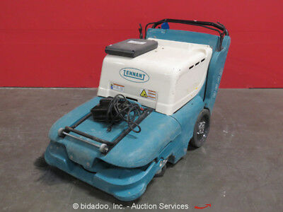 Tennant 3640 Walk Behind Self Propelled Industrial Floor Sweeper 24V-DC bidadoo