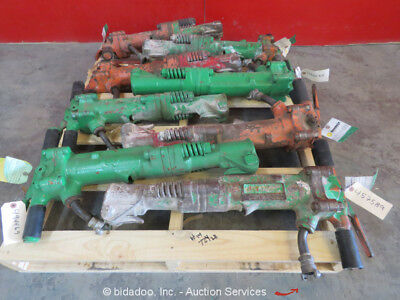 Lot of (8) Misc APT Pneumatic Demolition Breaker Air Jack Demo Hammer bidadoo