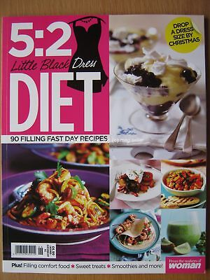 5:2 Little Black Dress Diet 90 filling fast day recipes from Woman magazine