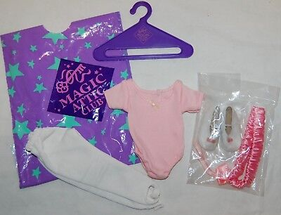 "Tonner Magic Attic Club Doll Heather Leotard & Leggings Brand New Fits 18"" Dolls"