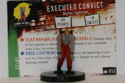 WIZKIDS HEROCLIX HORRORCLIX # 052 Executed Convict W/CARD