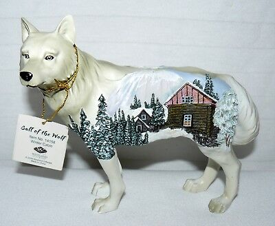 Westland Call Of The Wolf Cabin Scene No Box Has Tags