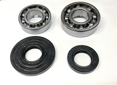 Yamaha G1 Golf Cart Crankshaft Bearing & Seal Set 1978-1989 2 Cycle  (4 pc Kit)