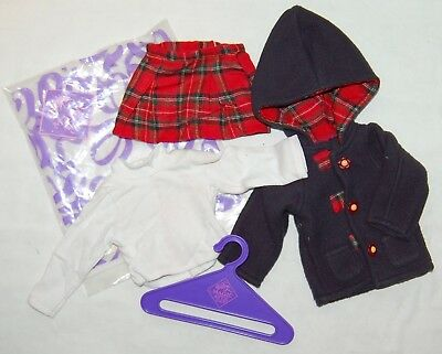 """Tonner Magic Attic Mad About Plaid Outfit Also Fits Sasha & 18"""" Dolls New Nrfb"""
