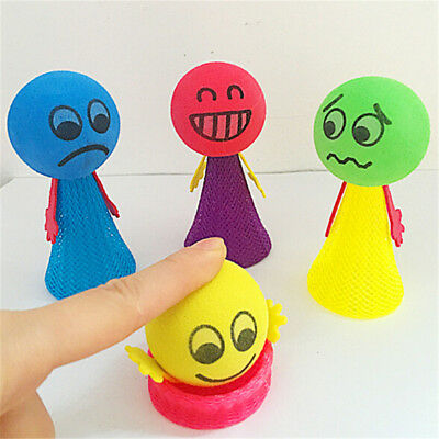 2Pcs Jump Doll Bounce Elf Fly Creative Children Kids Baby Educational Toys Gift&