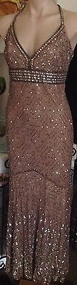 Mr K label beaded dress mother of the bride size 12/14