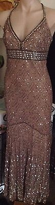Mr K label beaded dress mother of the bride size 14