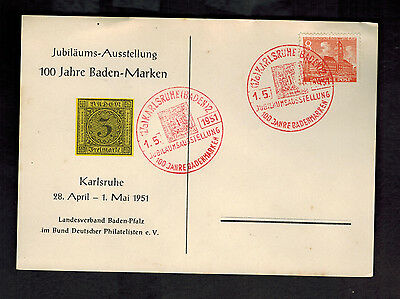 1951 Berlin West Germany Cover May Day Cancel # 9N46